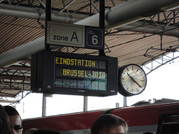 Gare de Bruxelles-Midi (ブリュッセル南駅)に到着.jpg